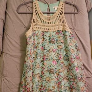 Spring accented dress